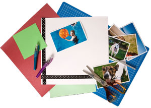 scrapbook services and memorabilia